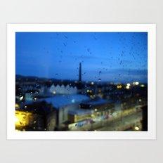 rain dream. Art Print