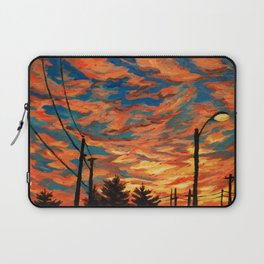 Street Meets Sky  Laptop Sleeve