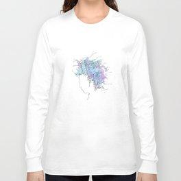 Bob Dylan/Watercolor Long Sleeve T-shirt
