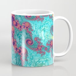 Rainbow Fractal Coffee Mug