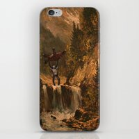 sasquatch iPhone & iPod Skins featuring The Sasquatch by TheDiGio