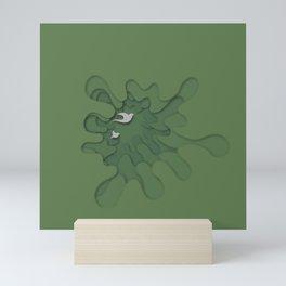 Splash of Nature Mini Art Print