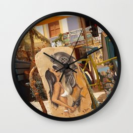 Submariners lucky day Wall Clock
