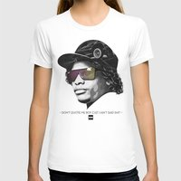 lakers T-shirts featuring Eazy Muthafuckin E by Rogemil Velasco