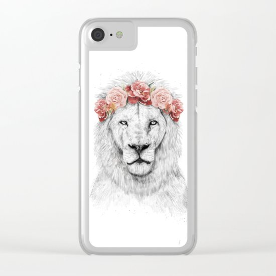 Festival lion Clear iPhone Case