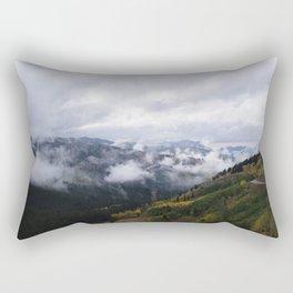 Foggy Fall Days Rectangular Pillow