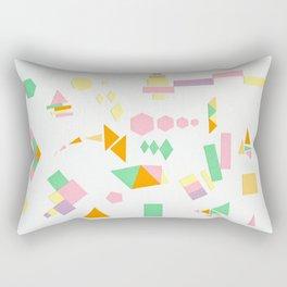 Juxtapose Rectangular Pillow