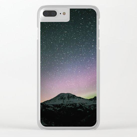 Stars III Clear iPhone Case