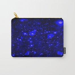 Dark Matter Galaxy Blue Carry-All Pouch