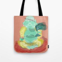 happy buddha Tote Bag