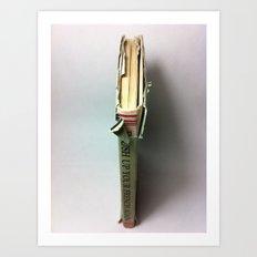 Book Spine Art Print