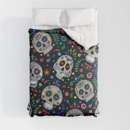 Dia De Los Muertos Calaveras/Sugar Skulls Comforters