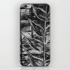 Abstract Nature - Leaf Painting iPhone & iPod Skin