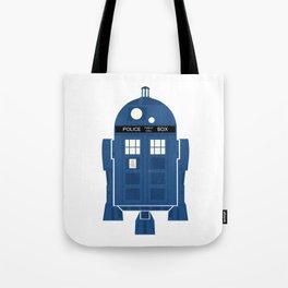 R2-TARDIS Tote Bag