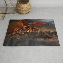 Dragon Attack Rug