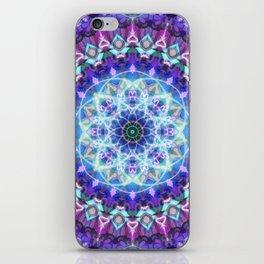 Sacred Lotus Mandala iPhone Skin