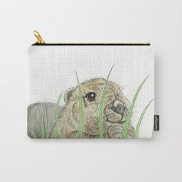 Peekaboo Beaver Carry-All Pouch