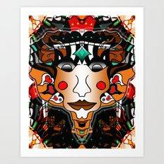 Pharaoh King Creative Art Print