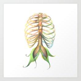 Mer-Rib Art Print