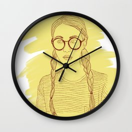Ms Sunshine Wall Clock