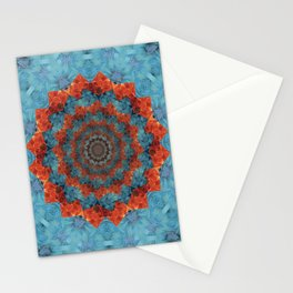Blossoming woe Stationery Cards