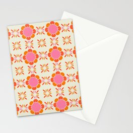 Sixties Tile Stationery Cards