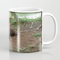 buffalo Mugs featuring Buffalo by FortuneArt&Photography