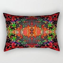 Energy Flow Rectangular Pillow