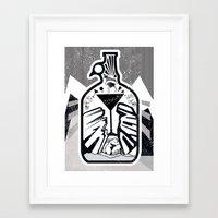 denver Framed Art Prints featuring Denver by Dani Vala