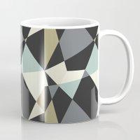 geo Mugs featuring Geo by SarahFlemingDesigns