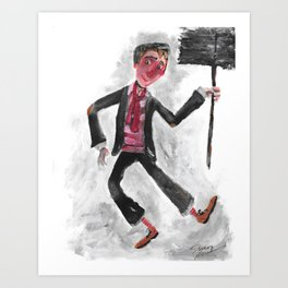 Bert; the Chimney Sweep (from Mary Poppins) Art Print