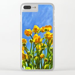 The Sky Is Yellow Clear iPhone Case