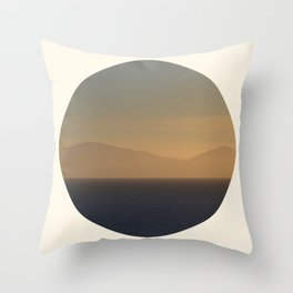 Lost In The Haze Throw Pillow