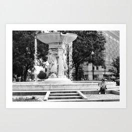 D.C. Fountain Art Print