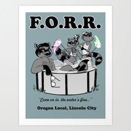 F.O.R.R. Art Print