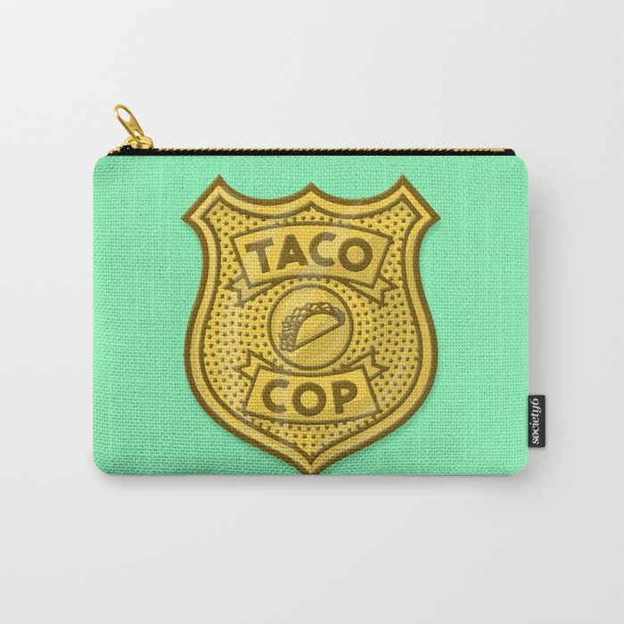 Taco Cop Carry-All Pouch