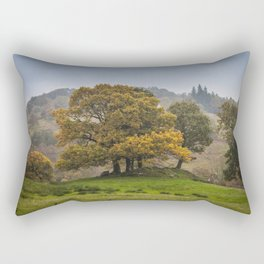 In the lakes Rectangular Pillow