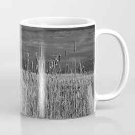 Cattails and reeds in the marsh Coffee Mug