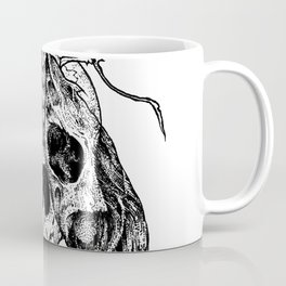 Moth Skull Coffee Mug