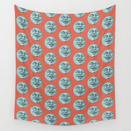 moon pattern Wall Tapestry