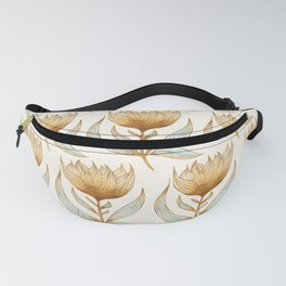 Bohemian Sunflower Pattern Fanny Pack