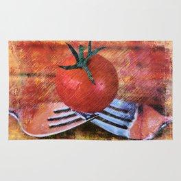 A Tomato Sketch Rug