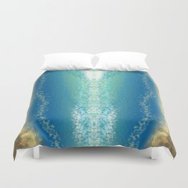 Abstract Seascape 04 wc Duvet Cover