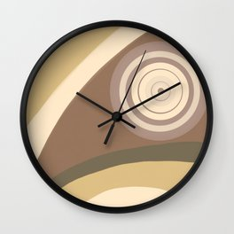 City Park - Hypnotized Bird Wall Clock