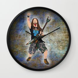 Dimebag (Vector Art) Wall Clock