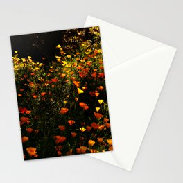 Beautiful garden flowers Stationery Cards