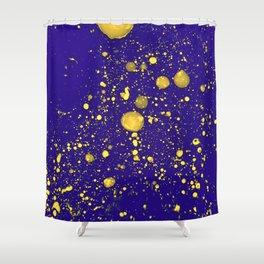 Blue Adagio Shower Curtain