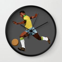 Peléee Wall Clock