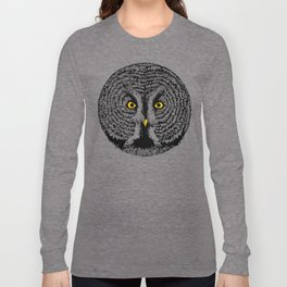 Round Owl Long Sleeve T-shirt