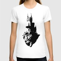 castle in the sky T-shirts featuring Castle by Julia Badeeva